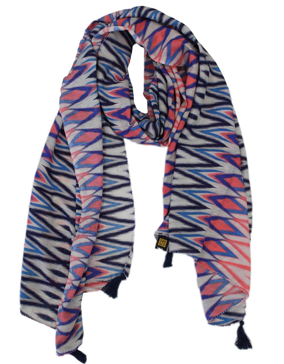 Multicolor Viscose Printed Scarf 68